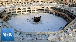Saudi Arabia's Mecca Empty of Pilgrims Amid Coronavirus