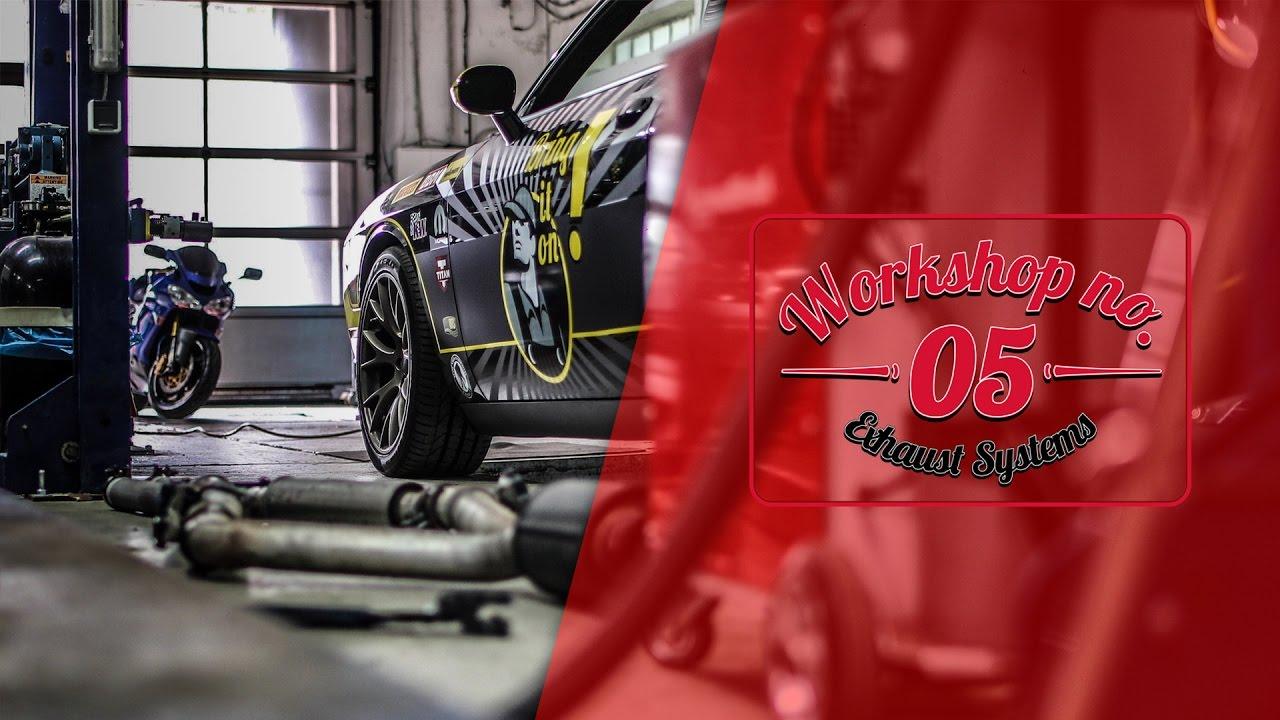 Dodge challenger hellcat srt exhaust auspuff brutal sound by workshop no 05