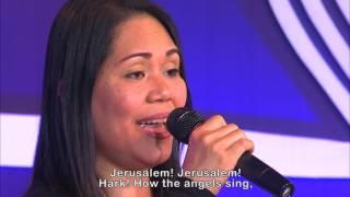 Ms  Ainor Aganeo  The Holy City with lyrics
