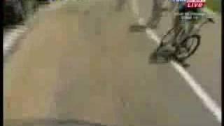 Jens voigt tour de france 09 crash