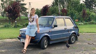 #232- Nowy Nabytek- Fiat 126p (maluszek) + Objazd po okolicy i aktualna sytuacja w polu!