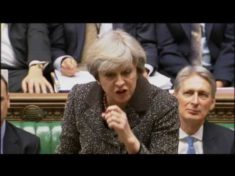 Prime Minister's Questions: 25 January 2017
