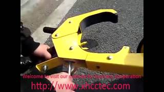 wheel boot lock,your car protector