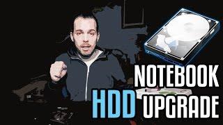 Jak si ho zvětšit  | Notebook HDD upgrade