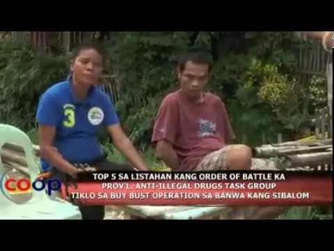 No. 5 Most Wanted Drug Pusher Dakup sa Sibalom