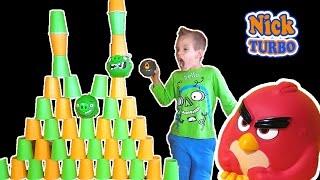 Angry Birds ОТКРЫВАЕМ ПОСЫЛКУ С ИГРУШКАМИ Видео детям