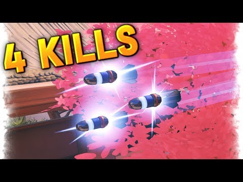 4 Kills in Half a Second..!! | Overwatch Best and Funny Moments - Ep.148