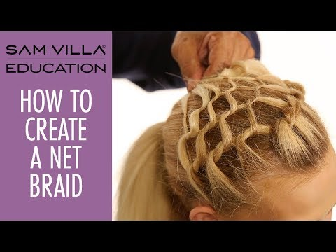 How To Create A Net Braid | Fishnet Braid Tutorial