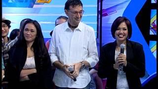 Milane Fernandez Bersama Kontestan Rising Star Indonesia - dahSyat 09 Oktober 2014