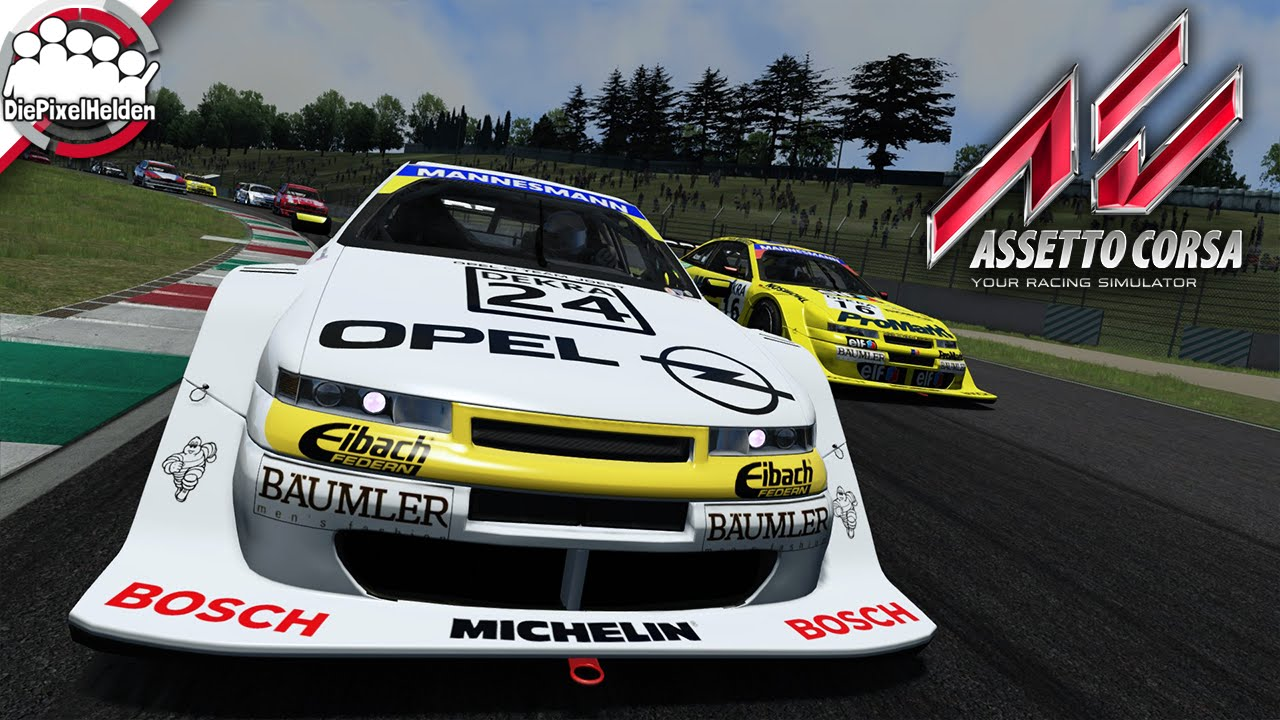 assetto corsa opel calibra v6 dtm itc 39 96 let 39 s play. Black Bedroom Furniture Sets. Home Design Ideas