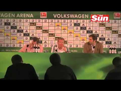 Steve McClaren German Accent