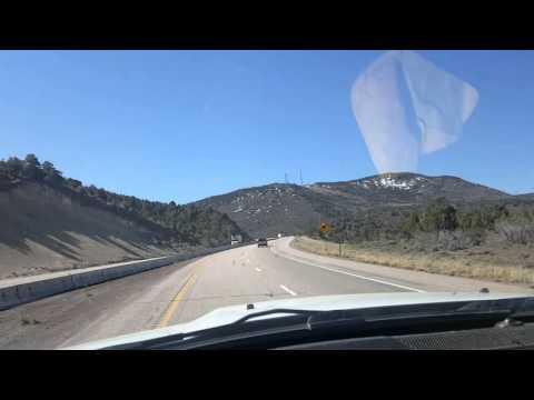 Henderson trucking psd tnt training - a little forest fire in Utah