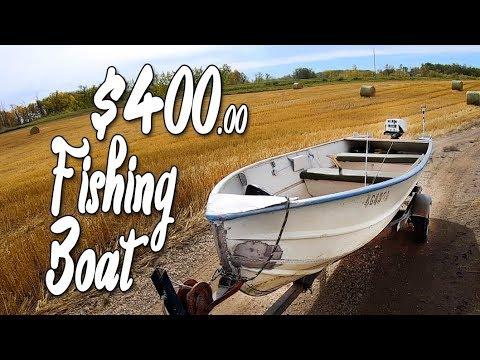 $400 Vintage Aluminum Fishing Boat
