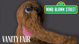 Mr. Snuffleupagus Reads Mind-Blowing Facts About the Universe | Vanity Fair