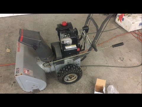 Small Engine Repair Diy Carburetor Replacement Craftsman Teseh