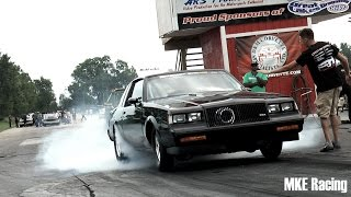 "Jim AKA ""Dr. Buick"" Testing his 106mm Turbo small block at GLD"