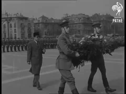 Indonesia : President Sukarno In Hungary 1960