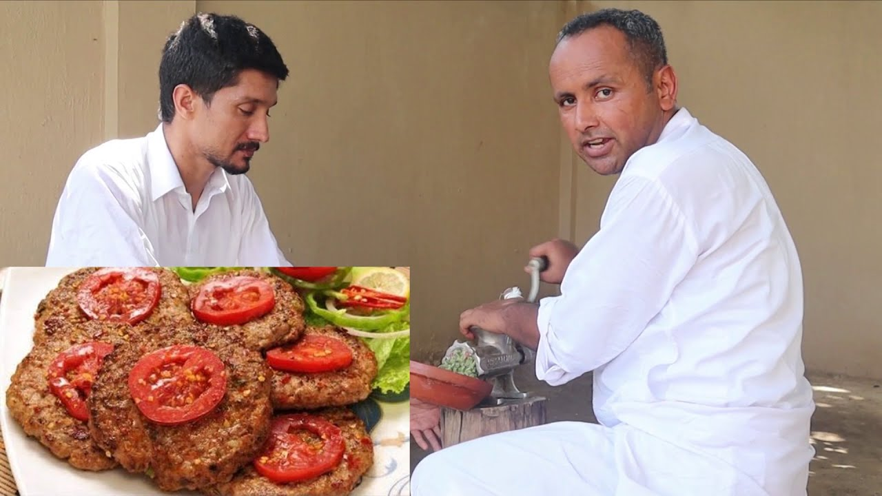 Chapli Kabab Recipe | Original Peshawari Chapli Kabab | Mubashir Saddique | Village Food Secrets