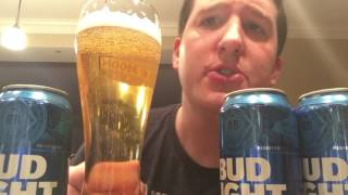 Drinking Bud Light (ASMR)