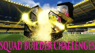 2 informs in 1 pack!?!?!?! fifa 17 squad builder challenges ep 1