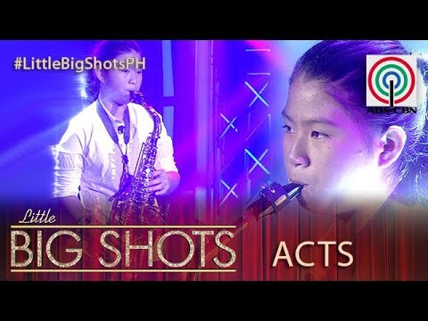 Little Big Shots Philippines: Alvi | 13-year-old Saxophone Player