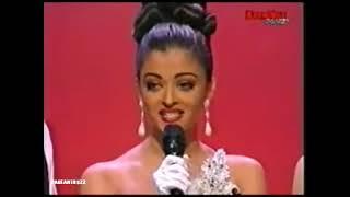 Aishwarya Rai Miss World 1994 Final Question   India