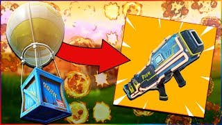 "NEW ""AIR STRIKE LASER"" in FORTNITE! (Fortnite Battle Royale) LEAKED Items in Fortnite Battle Royale!"