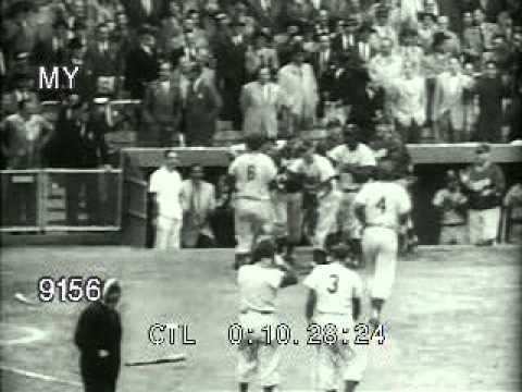 Stock Footage - Yankees Vs Dodgers 1953 World Series