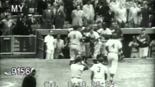 Stock Footage - Yankees Vs Dodgers 1953 World Series