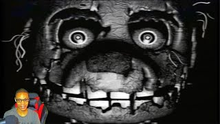 FINALE (FNAF VHS) REACTION || MICHEAL LET ME OUT MICHEAL LET ME OUT