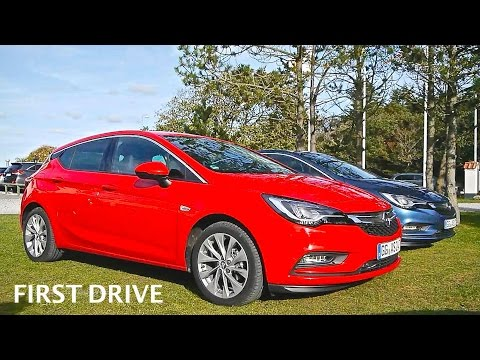2016 Opel Astra 1.4(150PS), first drive