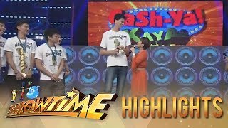 Video It's Showtime Cash-ya: Tiyang Amy is overwhelmed by Kai Sotto's height download MP3, 3GP, MP4, WEBM, AVI, FLV Juni 2018