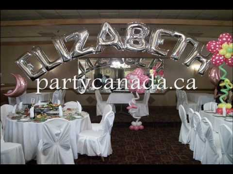 Party Canada , Party Planner And Party Supplies