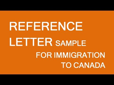 How to Write a Good Immigration Reference Letter for a