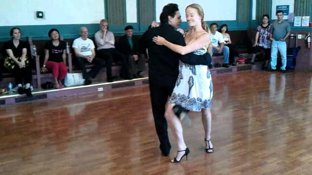 Argentine Tango Class Multi Steps Review www.tangonation.com 8/14/2011 - YouTube