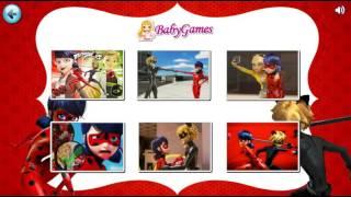 Мультик игра Леди Баг и Супер Кот: Пазлы на планшет (Miraculous Ladybug Puzzle)