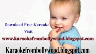Layi Vi Na Gayi Karaoke for singers from Chalta Chalte