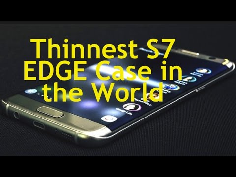 big sale b15ee 87606 S7 Edge GOAT THINNEST Case Reviews SAMSUNG NILLKIN - YouTube