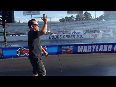Dave Vantine Top Fuel Motorcycle Test Pass