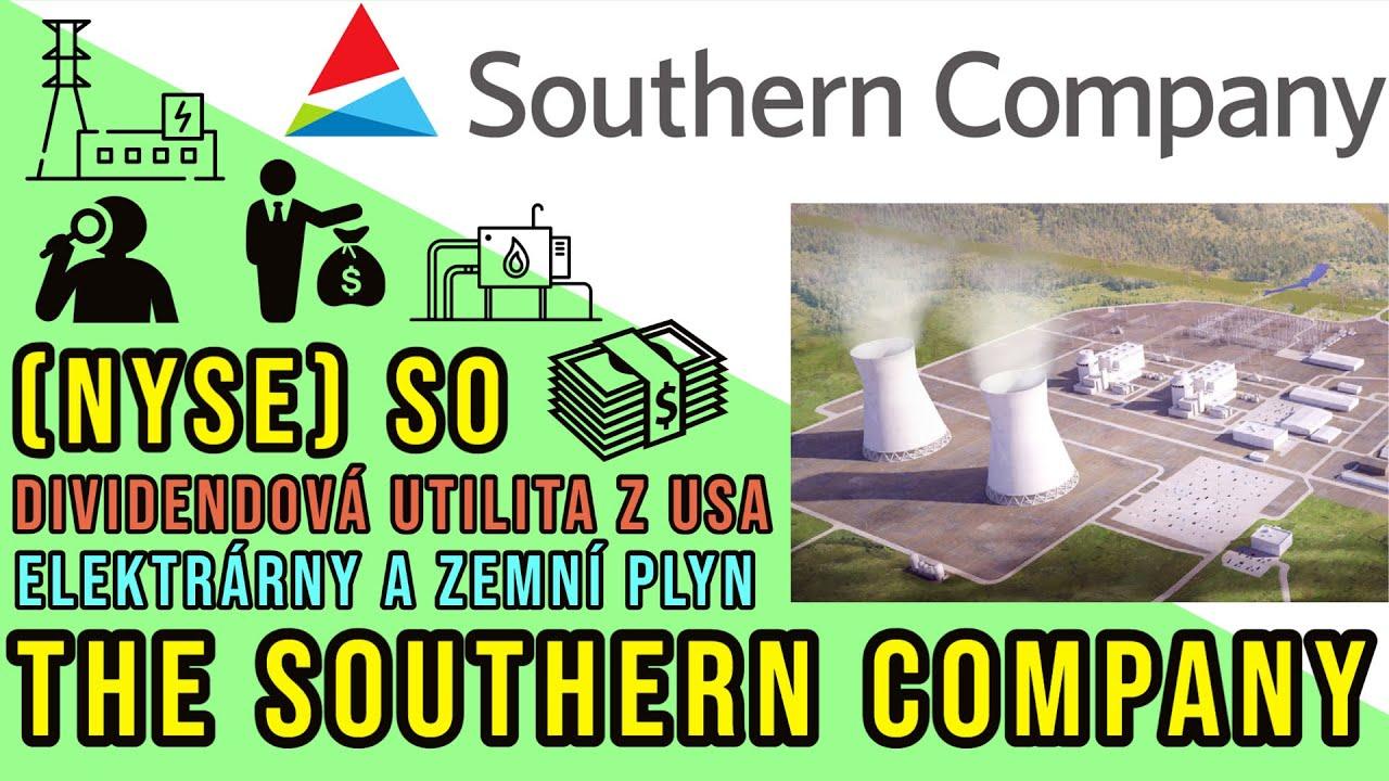 Download The Southern Company - investice, akcie a dividenda elektrárenského podniku z USA (10/2021)