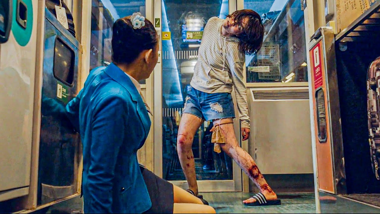 Download Passengers Struggle to Survive After an Infected Girl Enters The Train During a Zombie Outbreak
