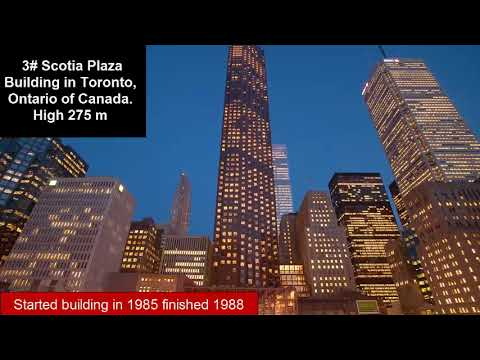 Top 6 highest buildings in Canada |Tallest Towers in Canada - Traveling in Canada