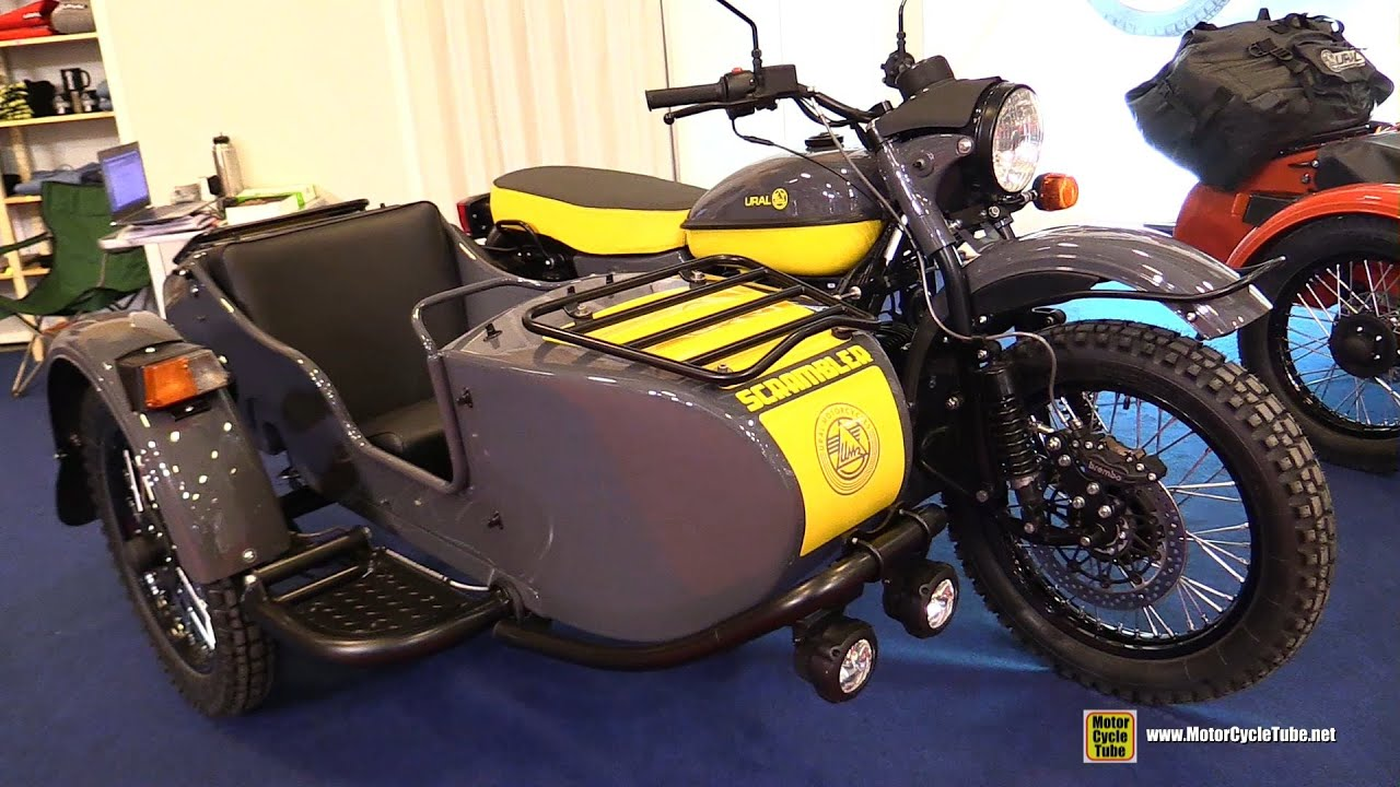 2016 Ural Limited Edition Scrambler Russian Bike With 2wd