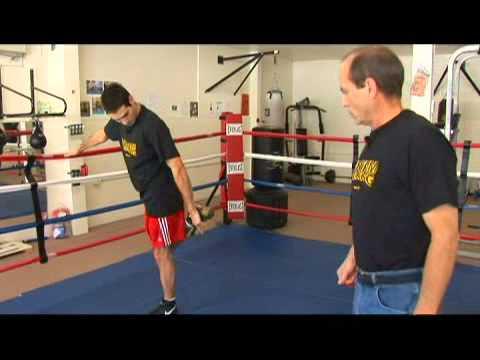 Boxing: Standing Quadriceps Stretch