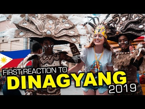 DINAGYANG 2019 Philippines, Foreigners First Time!