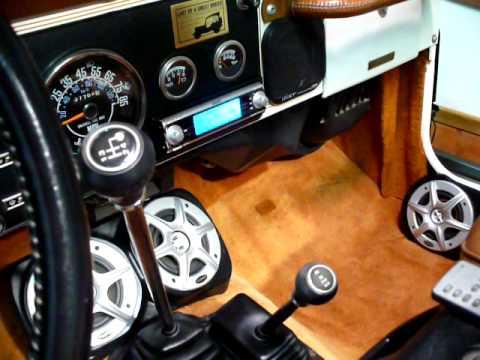 Jeep Wrangler & CJ Sound System Speaker Pods Enclosures