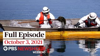 PBS NewsHour Weekend Full Episode October 3 2021