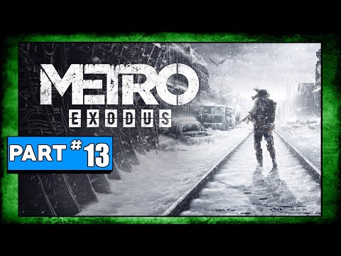 Metro Exodus Playthrough Part 13 - Stealing A Tugboat