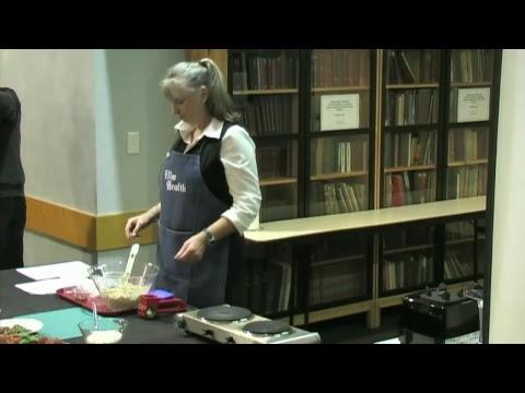 Elim Health Vegetarian Cooking Demonstration 15/5/17 Pt. 1