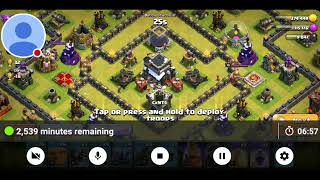 How to get 3 star town hall 9